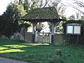 The lych gate for Northbourne Church - geograph.org.uk - 327522.jpg