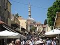 The main shopping streets -- Rhodes, Greece 2008 (4571518797).jpg