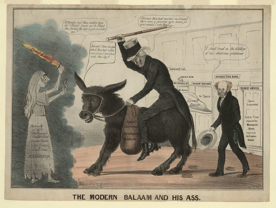 The modern balaam and his ass