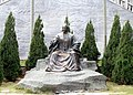 The statue of Koxinga in front of Koxinga Memorial Hall 20111226.jpg