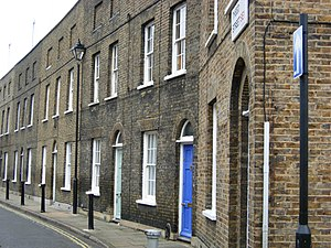 Terraced houses in the United Kingdom - Early 19th-century terraced houses near Waterloo, London