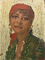 Theodor Cateliu - Tanara cu bsama rosie.jpg