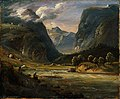 Thomas Fearnley - From Aurland in Sogn - NG.M.01731 - National Museum of Art, Architecture and Design.jpg