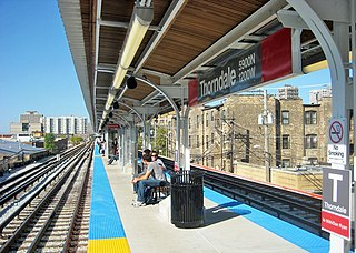 "Thorndale station (CTA) Chicago ""L"" station"