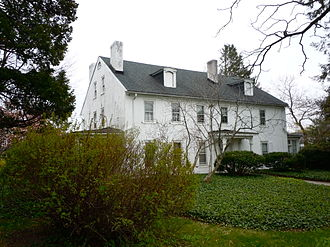 Drexel Hill, Pennsylvania - Thornfield, boyhood home of Thomas Garrett
