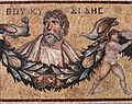 Thucydides Mosaic from Jerash, Jordan, Roman, 3rd century CE at the Pergamon Museum in Berlin.jpg