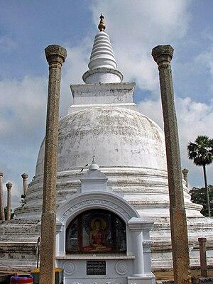 Ancient constructions of Sri Lanka - Thuparamaya stupa, Anuradhapura