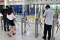 Ticket barriers at New China International Exhibition Center (20190529132113).jpg