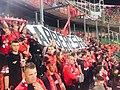 Tifosi albanesi stadio Palermo.jpg