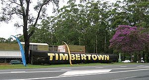 English: Timbertown, Wauchope, NSW