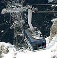 Tiroler Zugspitzbahn Kabine vom Gipfel aus.jpg