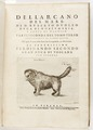 "Titelblad ""Dell'arcano del Mare..."", 1647 - Skoklosters slott - 93410.tif"
