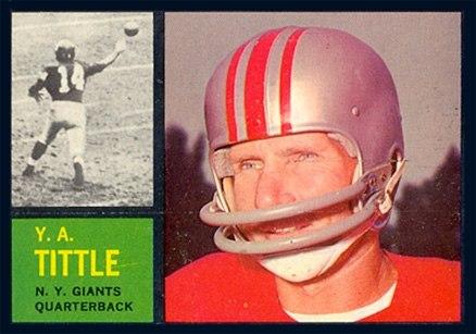 Tittle 1962 Topps