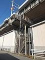 Tokaido Shinkansen maintenance workers stair - Biwazima.jpg