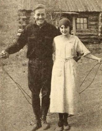 Tom London - Tom London and Virginia Brown Faire from a 1920 magazine