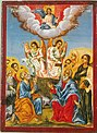 Toma Vishanov Icon Ascension Holy Trinity Church Bansko Early 19 Century.jpg