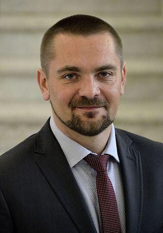 Tomasz Kucharski - Image: Tomasz Kucharski Sejm 2015