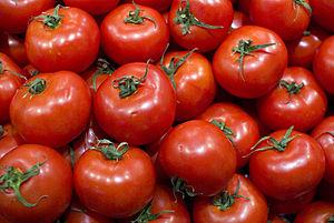 Español: Tomates.