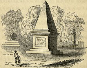 Humphrey Fleming Senhouse - Tomb of Senhouse in Macao (published 1844)