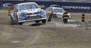 2015 World RX of Portugal - Toomas Heikkinen and Anton Marklund