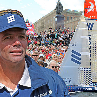 Torben Grael - Torben Grael, skipper of Ericsson 4 and overall winner of the Volvo Ocean Race 2009