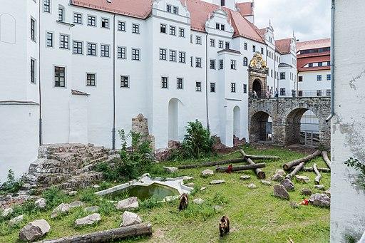 Torgau Schloss Hartenfels Baerenzwinger