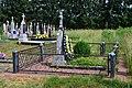 Torhovyshche Turiiskyi Volynska-brotherly grave of soviet partisans-1.jpg
