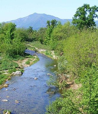 Monte Musinè - The mountain seen from Casternone (San Gillio)