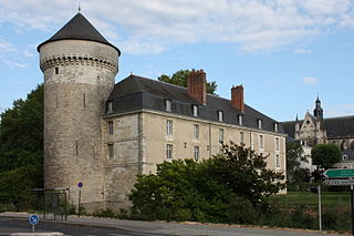 castle in Tours, France