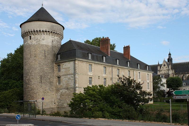 Château de Tours. История Тура