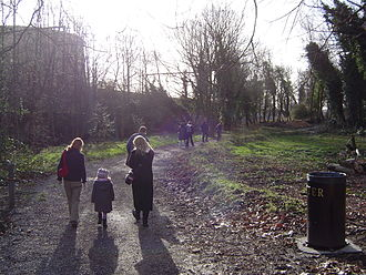 Tower Hamlets Cemetery Park - Walking in the Park