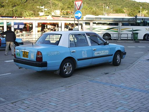 Toyota Crown Comfort LPG Taxicab (Hong Kong) - Flickr - skinnylawyer