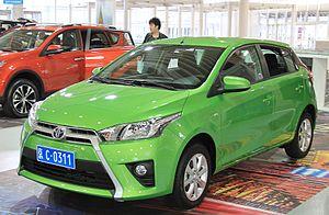 GAC Toyota - Image: Toyota Yaris L