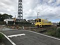 Train for Yufuin Station between Oita Station and Furugo Station.jpg