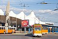 Tram in Sofia in front of Central Railway Station 2012 PD 027.jpg