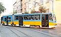 Tramway in Sofia in Alabin Street 2012 PD 021.jpg
