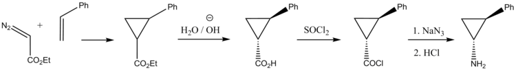 Tranylcypromine synthesis.png