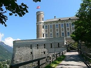 Pürgg-Trautenfels - Façade of Schloss Trautenfels
