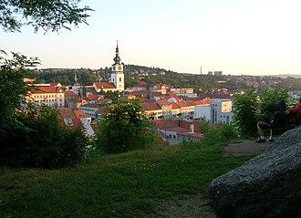 Vysočina Region - Image: Trebic vnitrni mesto hradek