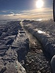 Trench off the Dalton Highway, March 2016 (27050038511).jpg