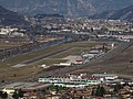 Trento-Gianni Caproni airport seen from Obere Batterie Mattarello.jpg