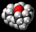 Tri-tert-butylmethanol molecule spacefill.png