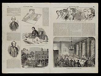 The Illustrated Times Weekly Newspaper - Double page feature on the trial of William Palmer, Illustrated Times, 27 May 1856.