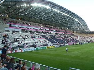Stade Jean-Bouin - Image: Tribune présidentielle nouveau stade Jean Boin Paris