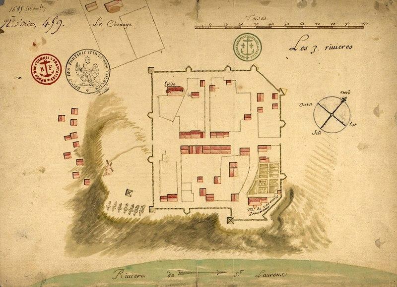 Fichier:Trois-Rivieres, 1685.jpg