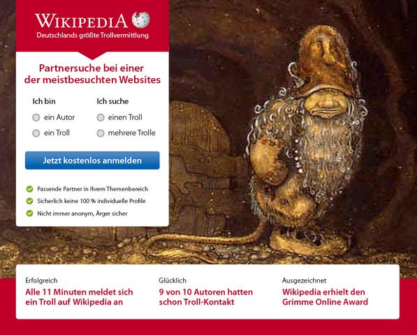 partnersuche wikipedia