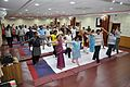 Trunk Movement - Loosening Practice - International Day of Yoga Celebration - NCSM - Kolkata 2015-06-21 7291.JPG