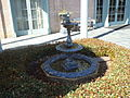 Trustmark Bank fountain, Eufaula.JPG