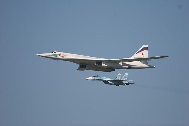 Resultado de imagen de Su-27SM de escolta tu 95