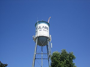 Tulare, California - Tulare Water Tower